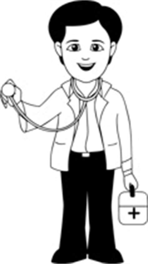 14920 doctor clipart black and white free black and white outline clipart clip