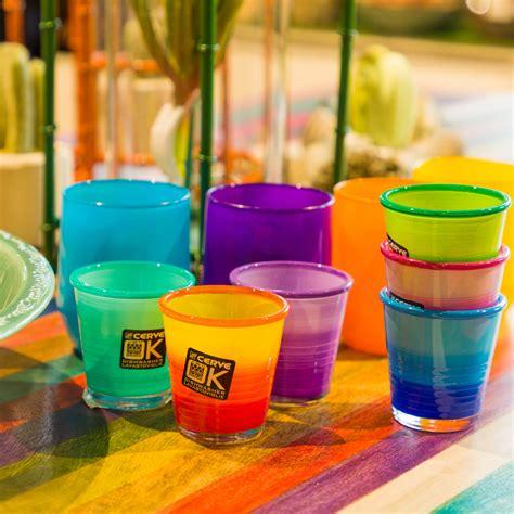 Kasanova Bicchieri by Set Bicchieri In Vetro Colorato 6 Pezzi Ebay