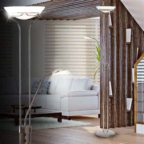Stehlampe Deckenfluter Leselampe Leuchte Stehleuchte