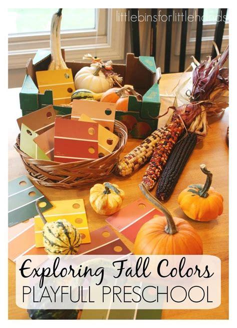 exploring fall colors with gourds preschool fall activity 312 | dcfe1b2fb52fde7e590d228026b1139f