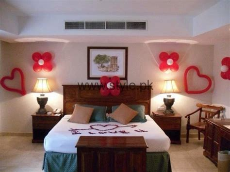 Decorating Ideas For Wedding Hotel Room bridal wedding room decoration ideas 2016