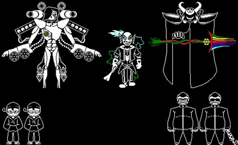 A Few More Undertale-style Sprites