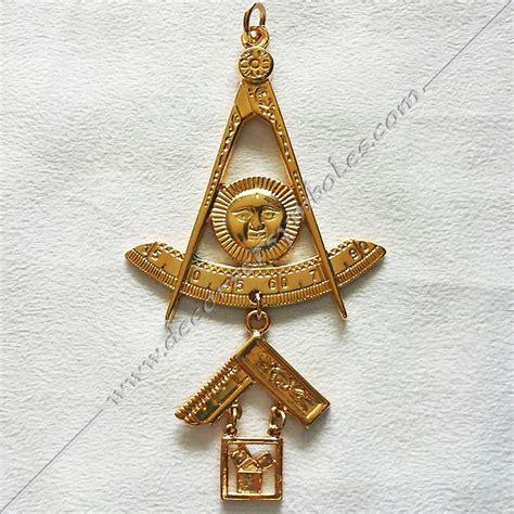 bijou maconnique de passe maitre honneur decors franc maconnerie loges pythagore vene