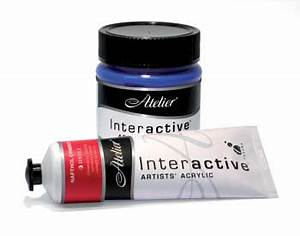 Atelier Interactive Acrylic Paint - Cavalier Art Supplies