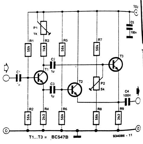 Frequency Doubler Multiplier Circuit Diagram