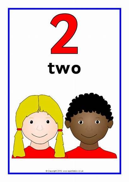 Number Posters Word Sparklebox Children