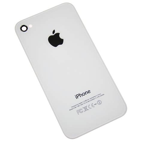 iphone back iphone 4s back cover white