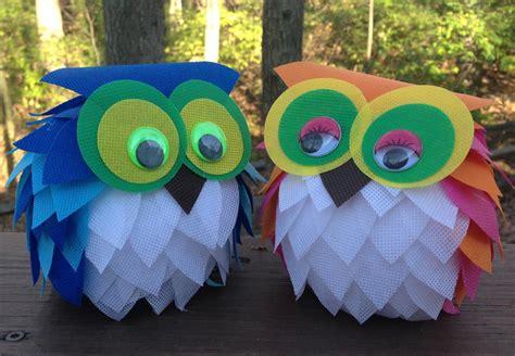 oly fun owl craft idea favecraftscom