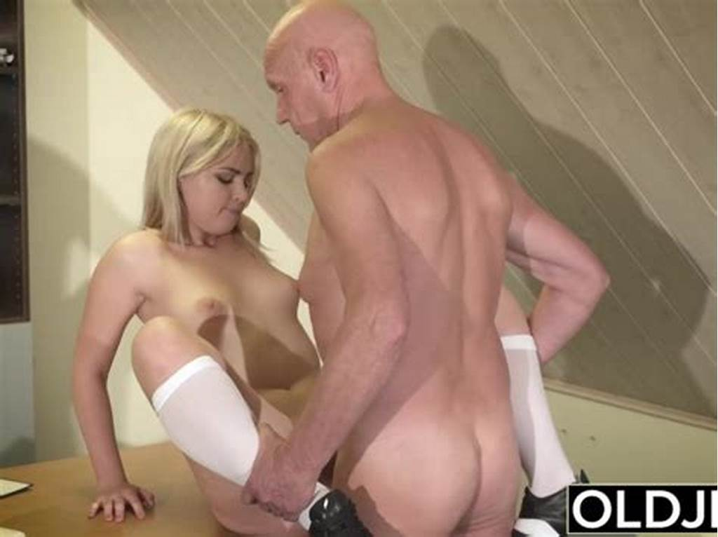 #Barely #Legal #Teen #Riding #Old #Man #Cock #And #Sucking #His #Balls #Swallows #Cum