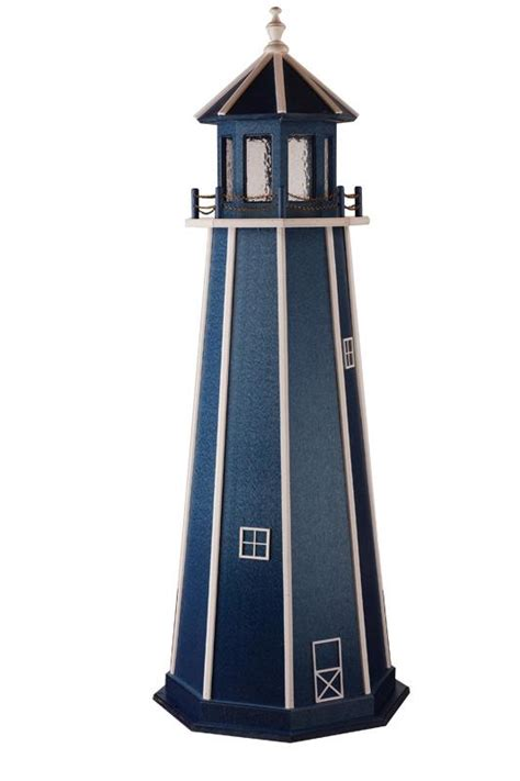 poly garden lighthouse  dutchcrafters amish furniture