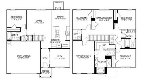 hayden  home floor plan