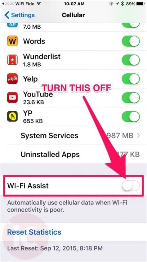 how to wifi from iphone how to turn ios 9 wi fi assist to save your precious