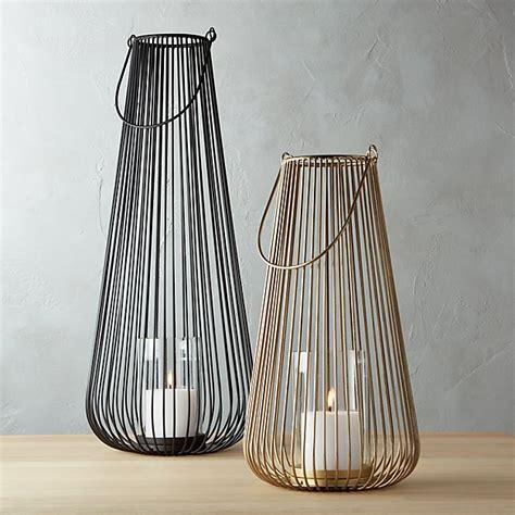 swoon wire lanterns cb2
