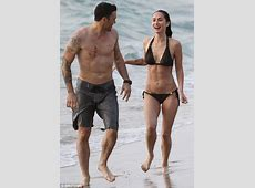 Megan Fox shows off her new tattoo on beach in Hawaii