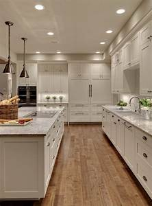 farmhouse kitchen floor ideas kitchen transitional with With kitchen colors with white cabinets with big lots candle holders