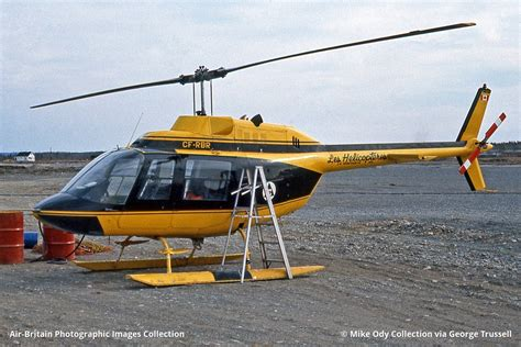 Aviation Photographs Of Agustabell 206a Jet Ranger Abpic