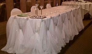 Wedding Table Skirting | ... head table skirting http www ...