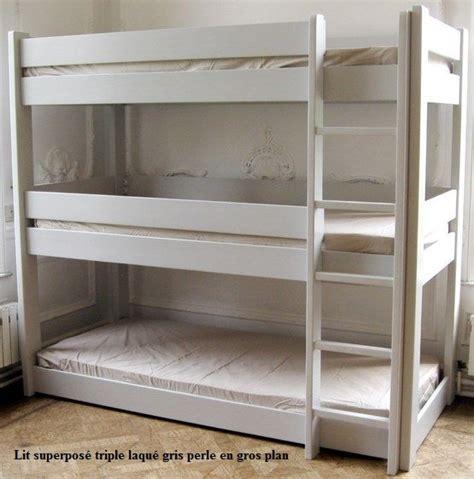 chambre de luxe belgique les 25 meilleures idées concernant lits superposés à trois