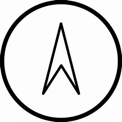 Icon Symbol Navigation North Ios Orientation Interface