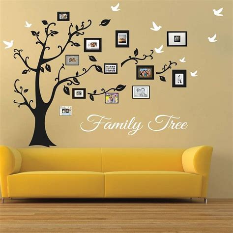 tree wall decor stickers best 25 family tree wall ideas on