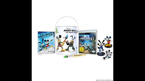 Epic Mickey 2 The Power Of Two Limited Special Edition