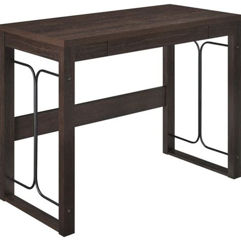 wrought iron computer desk altra furniture nate parsons computer desk wrought iron