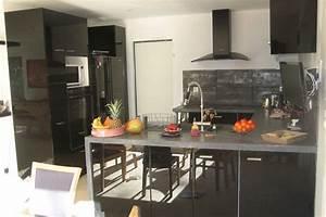 Deco Cuisine Ikea : cuisine ikea noir laque ~ Teatrodelosmanantiales.com Idées de Décoration