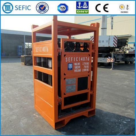 Nitrogen Cylinder Rack by China Platform Used High Pressure Oxygen Argon Nitrogen