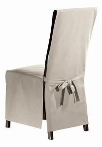 Housse Pour Chaise : mistral home housse pour chaise lyon uniline oyster 2 pi ces collishop ~ Teatrodelosmanantiales.com Idées de Décoration