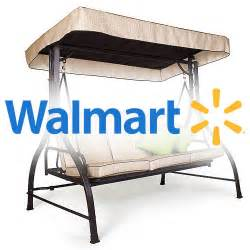 Patio Swings With Canopy Walmart by Replacement Swing Canopy Cover Garden Winds