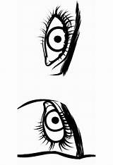 Eyes Coloring Pages Printable Mycoloring sketch template