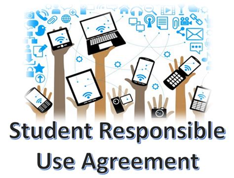student technology agreements student responsible