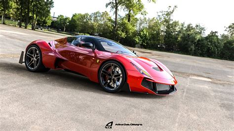 Ferrari Zenyatta Is A Designer's Vision For A New Hypercar