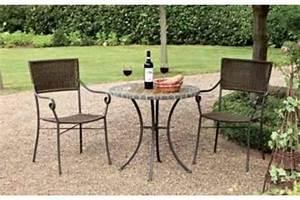 Bistrotisch Mit 2 Stühlen : gartentisch bistrotisch u 2 st hle sitzgruppe restposten ~ Michelbontemps.com Haus und Dekorationen