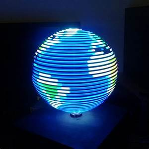 The Amazing Persistence Of Vision Led U0026 39 S And Led Cubes  Led Displays With A Techno Beat