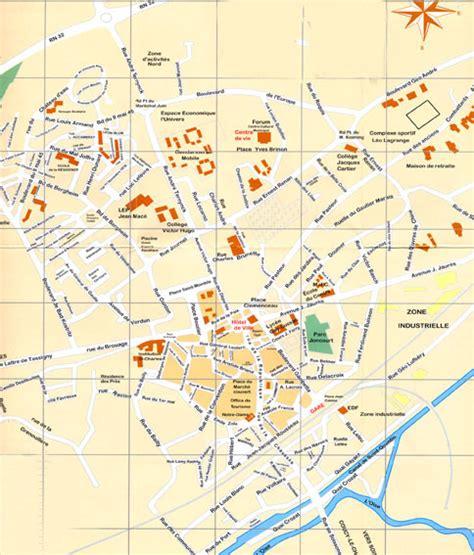 Mairie Ville De Plan De Office De Tourisme De Chauny Plan De La Ville