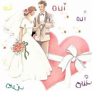 Dessin Couple Mariage Couleur : gifs mariage bapteme communion ect page 4 ~ Melissatoandfro.com Idées de Décoration