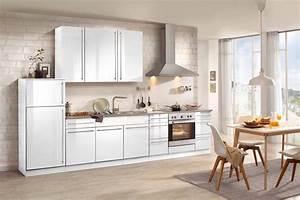 Küchenzeile 240 Cm Mit E Geräten : wiho k chen k chenzeile mit e ger ten chicago 340 cm deko ~ Watch28wear.com Haus und Dekorationen