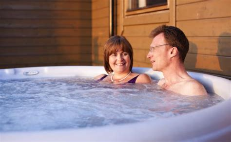 tub couples couples spa lodge pitlochry chalet central