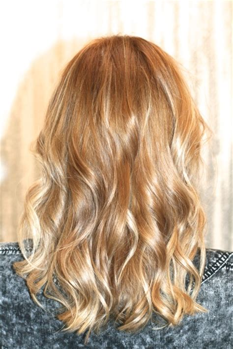 Golden Hair Color by Honey Hair Color Jonathan George