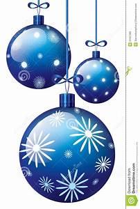 Blau Auf M Bau : blaue weihnachtskugeln vektor abbildung bild von element 21557366 ~ Frokenaadalensverden.com Haus und Dekorationen