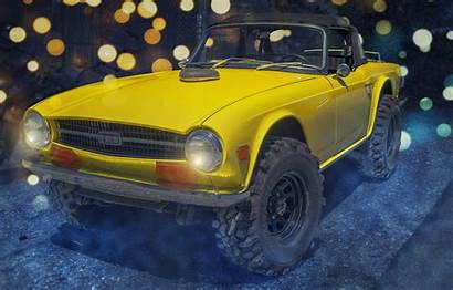 Triumph Jacked Tr6 Monster Yellow вконтакте Telegram