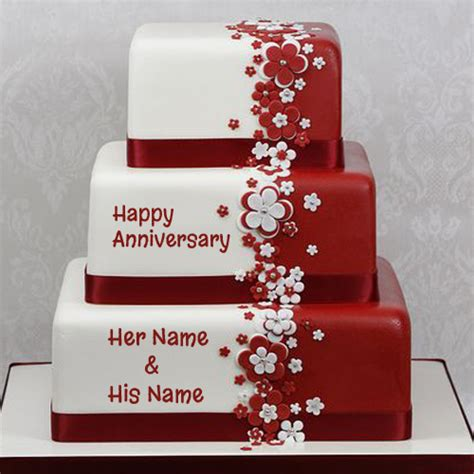 happy anniversary cake  picture