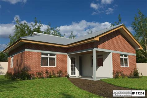 Simple 3 Bedroom house plan ID 13201 House Plans by