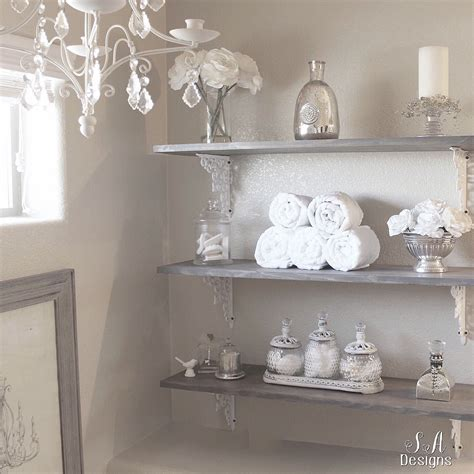 diy bathroom shelving tutorial home interior design