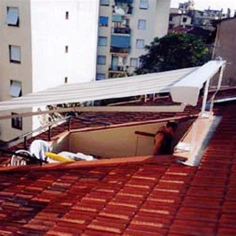 terrazza a tasca foto tende da sole e coperture installate da abc tende di