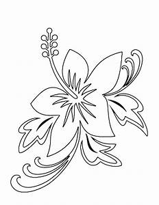 Print Out Coloring Pages of Flowers