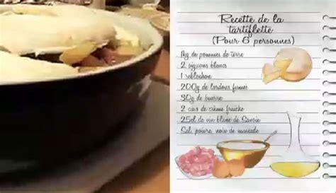recettes cuisine pdf 26122015 lcdj recette de la tartiflette de magalie pdf la