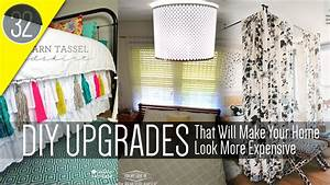 32 Cheap and Easy Home Decor DIY - YouTube