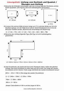 Quadrat Berechnen Formel : matheaufgaben umfang und fl cheninhalt ~ Themetempest.com Abrechnung